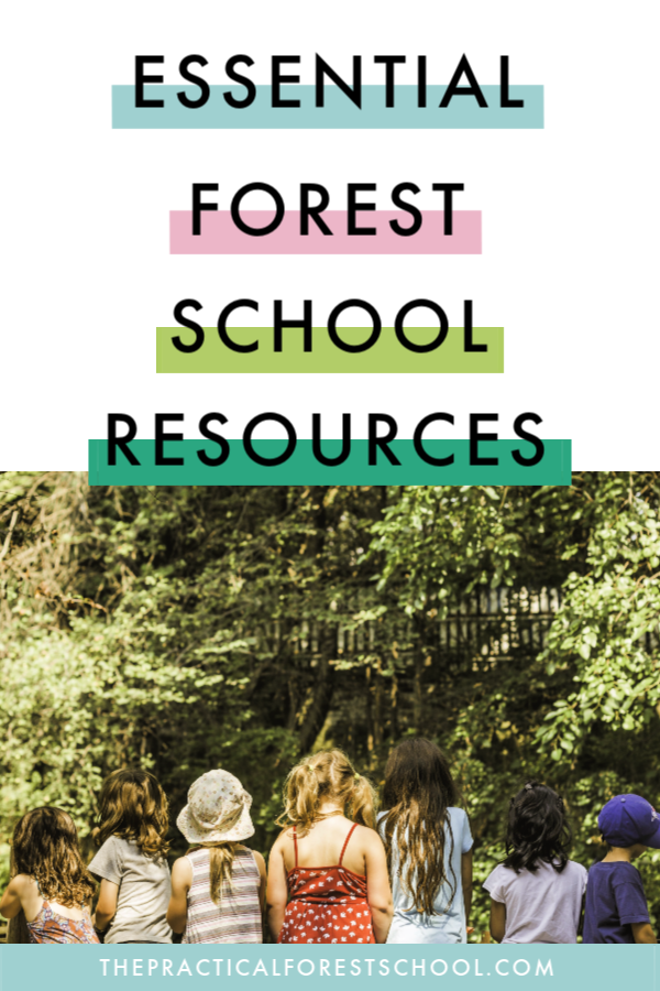 Forest school resources - the things you need to run your activities