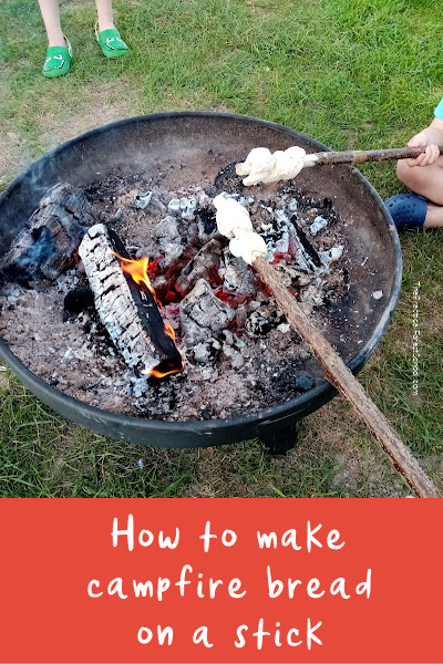 how to make campfire bread on a stick